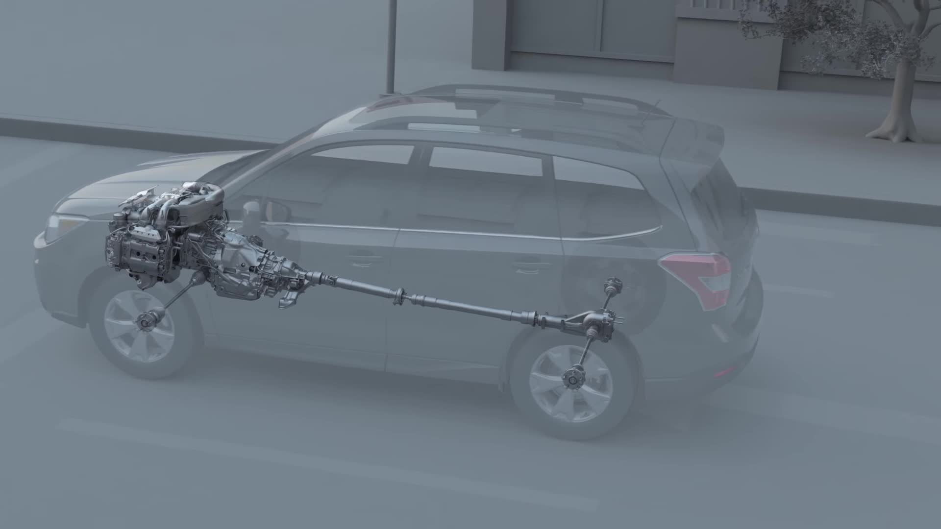 boxer, crash, powertrain, safety, Safety. Subaru Protective Systems. GIFs