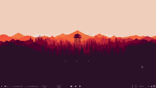 Watch and share Firewatch GIFs and Rainmeter GIFs by Danilo Fernandes on Gfycat