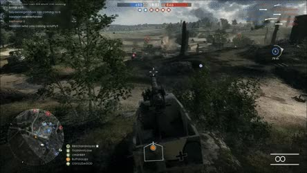 Watch and share Invulnerable Tank Hacks? • R/battlefield_one GIFs on Gfycat