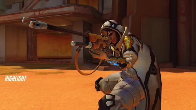 Watch and share Overwatch GIFs and Ana GIFs by knapplapp on Gfycat