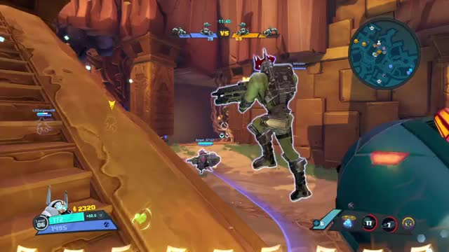 Watch and share Battleborn GIFs by Old Man Cranky on Gfycat