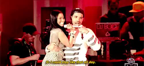 Watch and share Drake And Nicki GIFs and I Don't Ship It GIFs on Gfycat