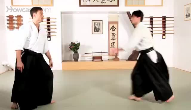 Aikido, Kotegaeshi variations: one of the most effective techniques GIFs