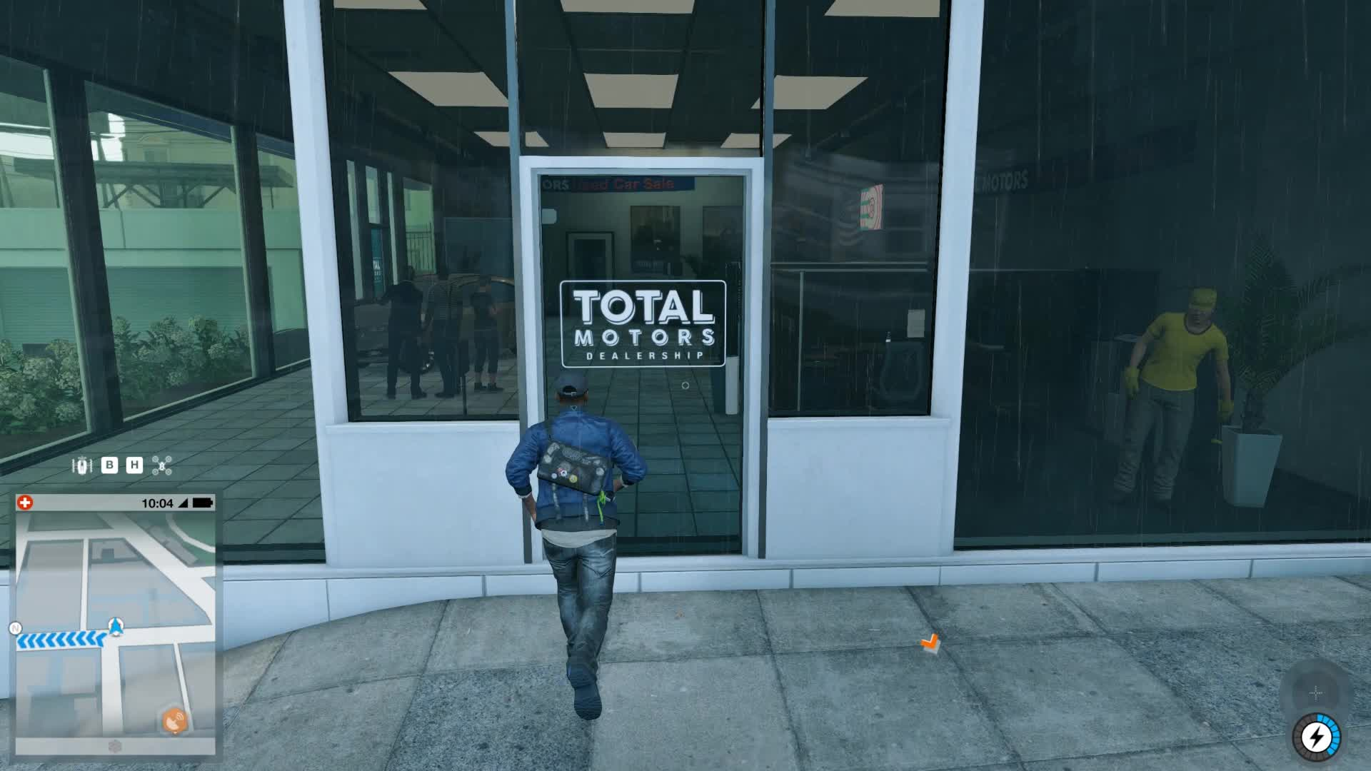 Watch Dogs 2 NPC interaction GIFs