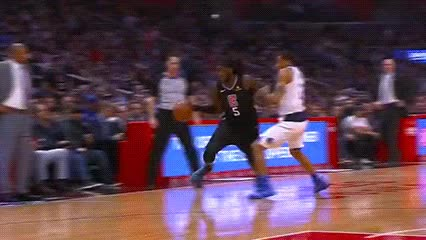 Watch and share Montrezl Harrell — Los Angeles Clippers GIFs by Off-Hand on Gfycat