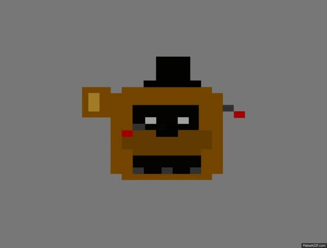 Watch and share Goldenfreddy Pixel Jumpscare 2 GIFs on Gfycat