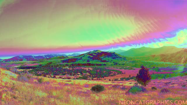 Watch and share Psychedelic GIFs and Panorama GIFs by NeonCatGraphics on Gfycat