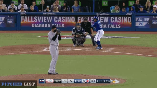 Watch Betances CB GIF on Gfycat. Discover more Toronto Blue Jays, baseball GIFs on Gfycat