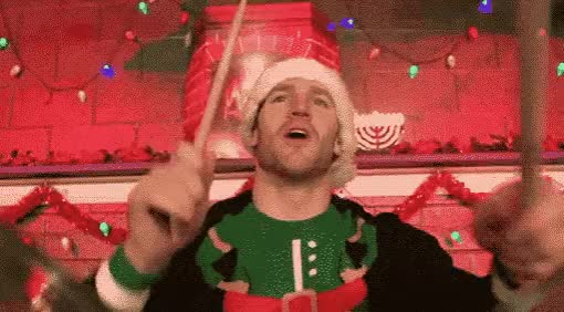 Watch this trending GIF by GIF Queen (@ioanna) on Gfycat. Discover more baguette, christmas, claus, drums, excited, music, musician, party, rythm, santa, solo, xmas GIFs on Gfycat