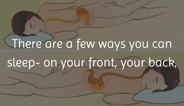 Watch and share Health Benefits Of Sleeping On Your Left Side GIFs on Gfycat