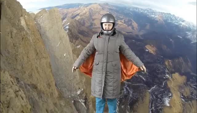 Watch I'm flying off a cliff without a parachute. Tatiana's channel. Chromakey Features GIF on Gfycat. Discover more related GIFs on Gfycat