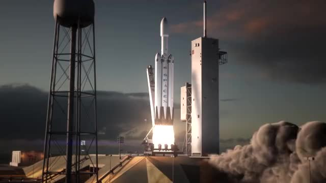 Watch Falcon Heavy Rocket GIF by Piotr Barycki (@piotrbarycki) on Gfycat. Discover more related GIFs on Gfycat