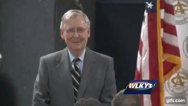 mitch mcconnell, politics, get on GIFs