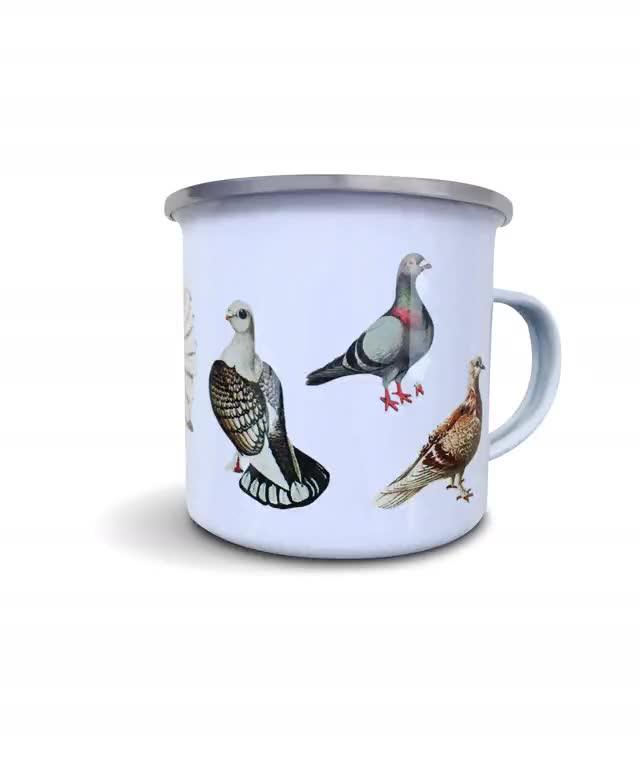 Watch and share Pigeon Mug Standard Background GIFs on Gfycat