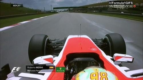 formula1gifs, Roberto Merhi spins in FP3 - Malaysia 2015 (reddit) GIFs