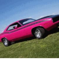 Watch and share 1970 Plymouth Cuda animated stickers on Gfycat