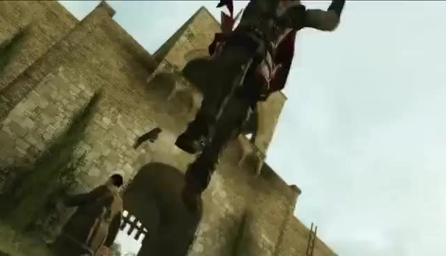 Watch creed GIF on Gfycat. Discover more assassins Creed, blood, creed, ezio auditore, launch, launch trailer, live by the creed, seek vengeance GIFs on Gfycat