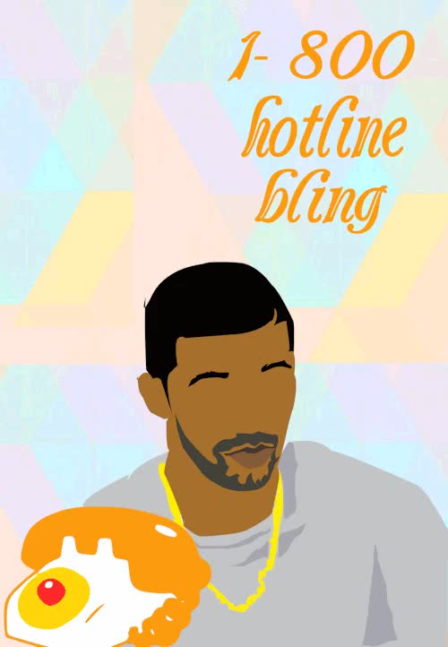 Watch and share Hotline Bling GIFs and Drake Gif GIFs on Gfycat