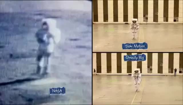 Watch Mythbusters Moon Landing Hoax Full Episode GIF on Gfycat. Discover more related GIFs on Gfycat