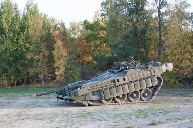Watch and share Stridsvagn 103 Demonstrating Elevation GIFs on Gfycat