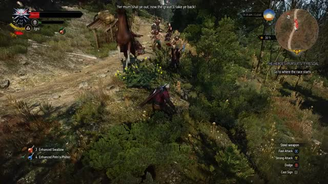 Watch and share The Witcher 3 GIFs by Kim Puolakka on Gfycat