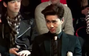 Watch and share Exo Junmyeon GIFs and Exo Awards GIFs on Gfycat