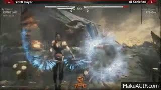 MKX - Yomi Slayer [Kung Lao] x cR SonicFox [Kitana] - TFC 2015 GIFs