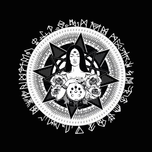 Watch and share Occult Design Animation 1128 GIFs on Gfycat