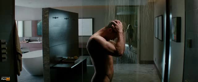 jamie Dornan in the Shower