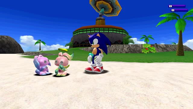 Watch and share Sonic Adventure Dx GIFs and Chao Garden GIFs by LimitCrown on Gfycat