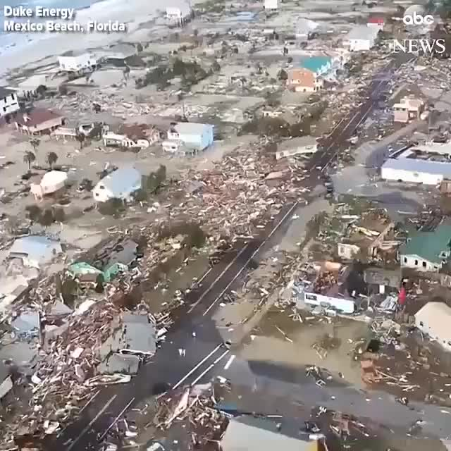 Watch and share The Aftermath Of Hurricane Michael In The Florida Panhandle GIFs by alexzanderzone on Gfycat