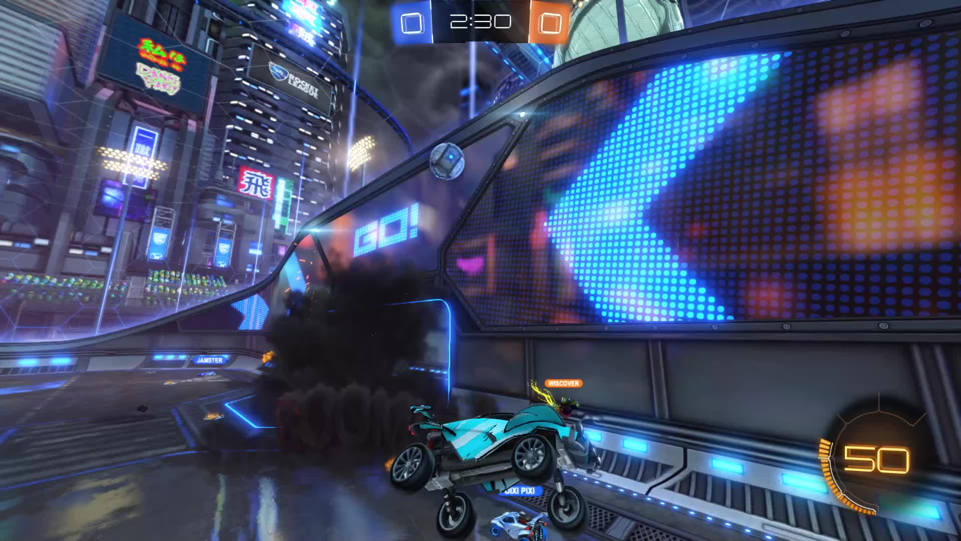 Baby Shark doo doo doo, Gif Your Game, GifYourGame, Goal, Rocket League, RocketLeague, Goal 1: Baby Shark doo doo doo GIFs