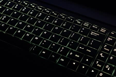 Watch and share Multi-Color Backlit Keyboard On Our New Bonobo Extreme Ubuntu Laptop  GIFs on Gfycat