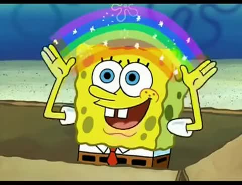 Watch and share Spongebob-imagination GIFs on Gfycat