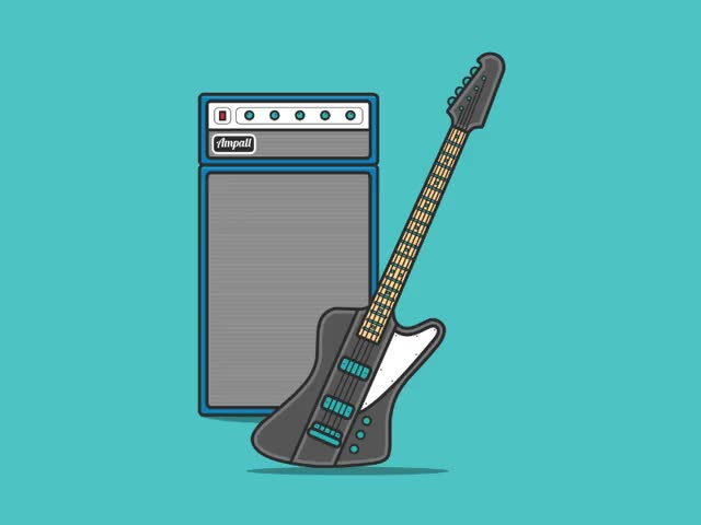 Watch and share Animated Interactive Bass Guitar And Amp ???? GIFs on Gfycat