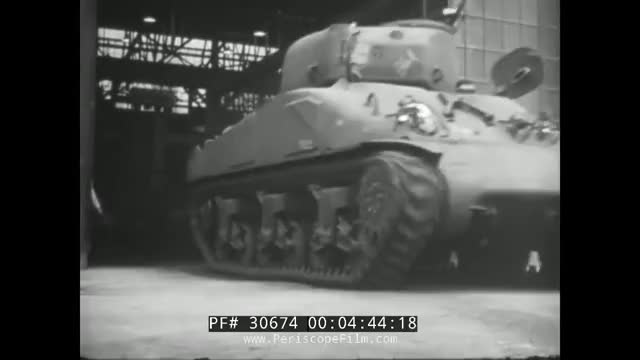 DODGE BROTHERS BUILDS FOR WAR WWII TRUCKS, SHERMAN TANKS, COMMAND