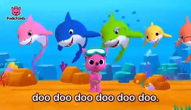 Watch and share Baby Shark GIFs on Gfycat