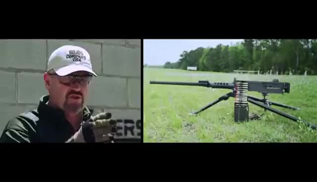 Watch and share Browning M2 50 Cal Machine Gun GIFs on Gfycat