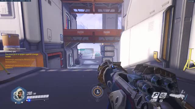 Watch and share Overwatch GIFs and Ana GIFs by brokenstyli on Gfycat