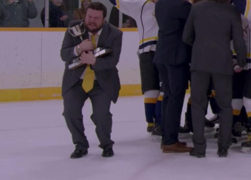 Letterkenny - Coach Crying with Trophy GIFs