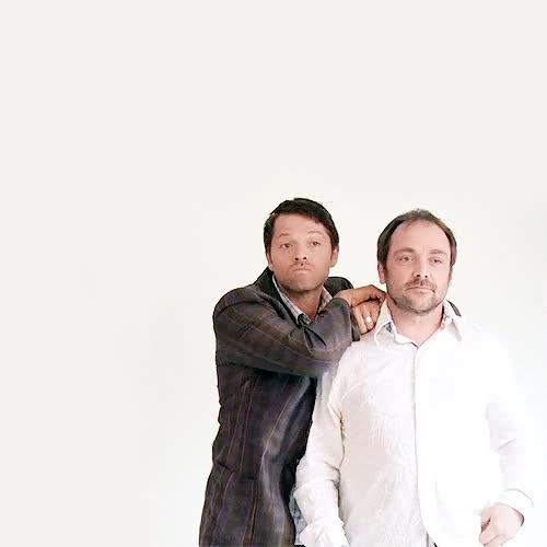 Watch and share Misha Collins GIFs on Gfycat