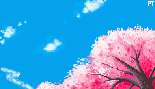 Watch and share Cherry Blossom GIFs and Pixel Art GIFs on Gfycat