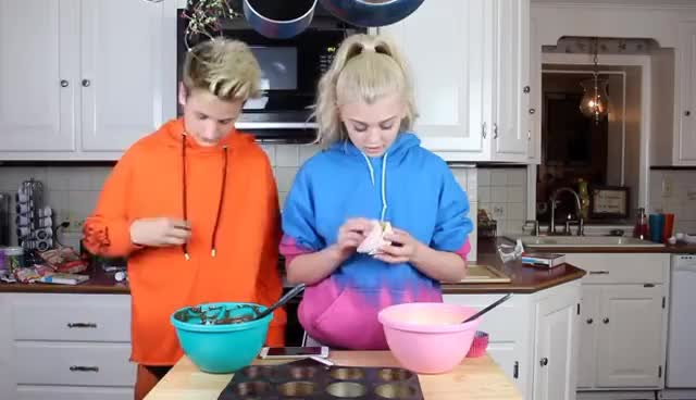 Cooking With Moren!! | Loren Gray & Mark Thomas GIFs