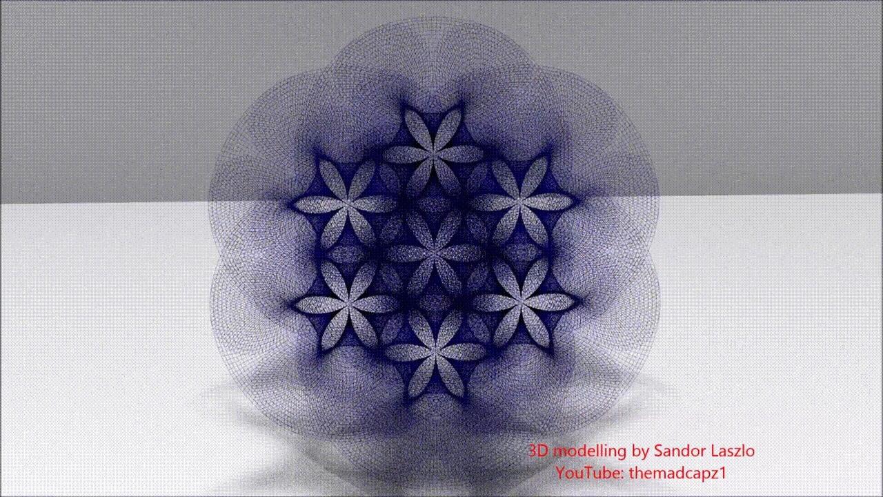 holofractal, sacredgeometry,  GIFs