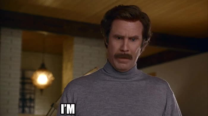anchorman, mad, ron burgundy, will ferrell, mad GIFs