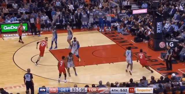 Watch and share Toronto Raptors GIFs and Basketball GIFs on Gfycat