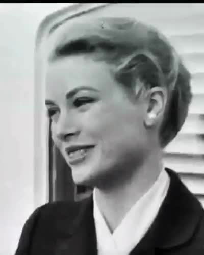 Watch  Grace Kelly, April 1956.  GIF on Gfycat. Discover more 1956, GODDESS, Grace Kelly, My GIFs, Princess Grace, SS Constitution GIFs on Gfycat