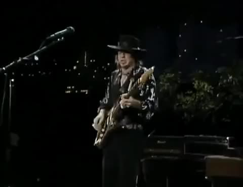 Watch Stevie Ray Vaughan - Voodoo Child (One Night In Texas) GIF on Gfycat. Discover more All Tags, Electric, Fender, Ray, Stevie, amp, bass, blues, boss, cover, custom, guitar, guitars, pedal, strat, vaughan GIFs on Gfycat