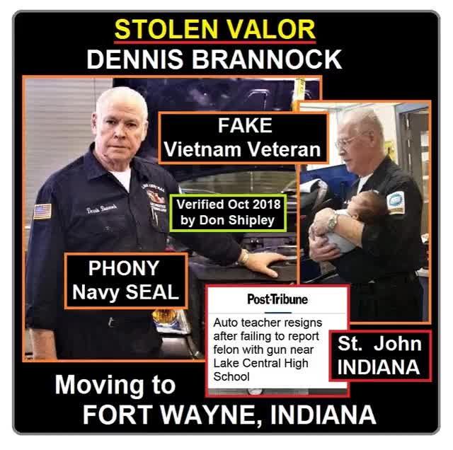 Watch and share Stolen Valor Dennis Brannock GIF 3 GIFs on Gfycat