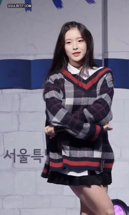 Watch and share 오마이걸 아린 GIFs on Gfycat